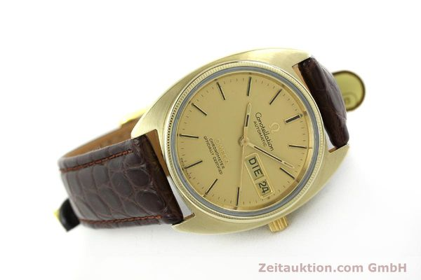 montre de luxe d occasion Omega Constellation doré automatique Kal. 1021  | 150386 03