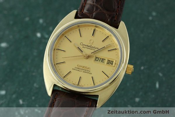 montre de luxe d occasion Omega Constellation doré automatique Kal. 1021  | 150386 04