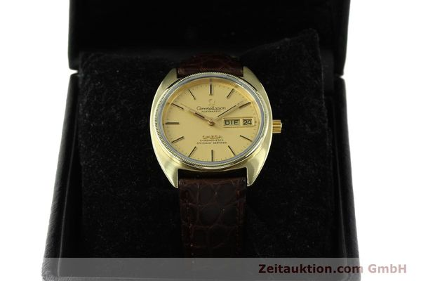 montre de luxe d occasion Omega Constellation doré automatique Kal. 1021  | 150386 07
