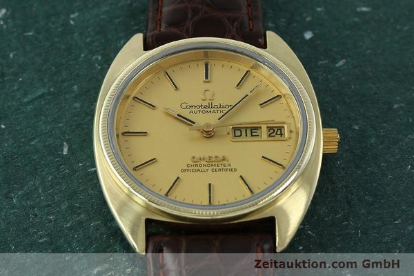 montre de luxe d occasion Omega Constellation doré automatique Kal. 1021  | 150386 14