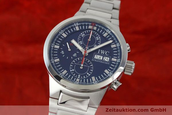 Used luxury watch IWC GST chronograph steel automatic Kal. 79230 Ref. 3715  | 150388 04