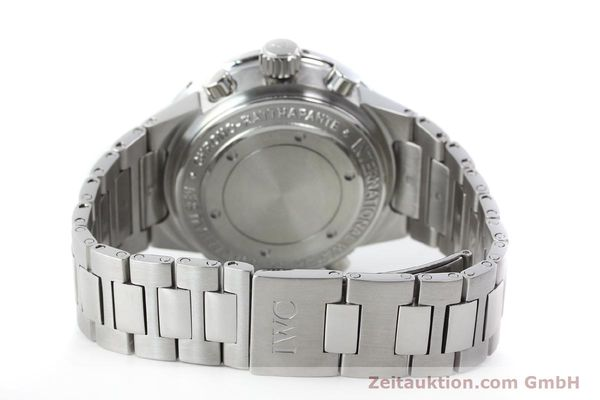 Used luxury watch IWC GST chronograph steel automatic Kal. 79230 Ref. 3715  | 150388 13
