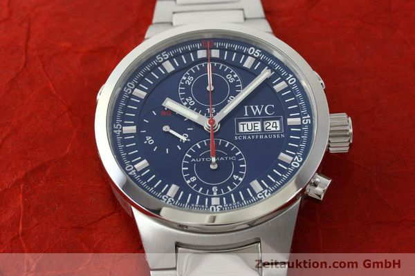 Used luxury watch IWC GST chronograph steel automatic Kal. 79230 Ref. 3715  | 150388 17