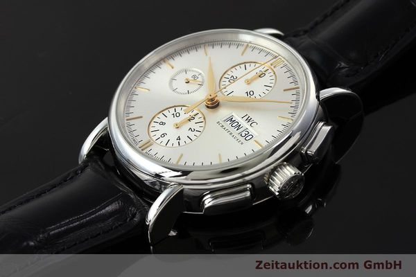 Used luxury watch IWC Portofino chronograph steel automatic Kal. 79320 Ref. 3783  | 150390 01