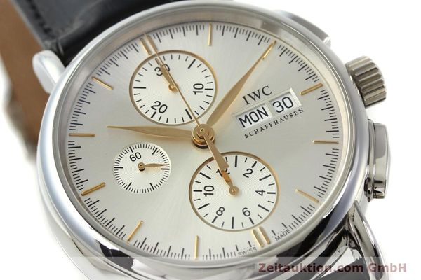 Used luxury watch IWC Portofino chronograph steel automatic Kal. 79320 Ref. 3783  | 150390 02