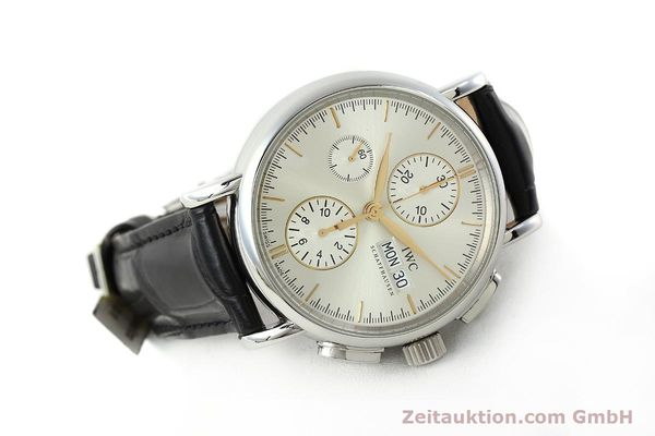Used luxury watch IWC Portofino chronograph steel automatic Kal. 79320 Ref. 3783  | 150390 03