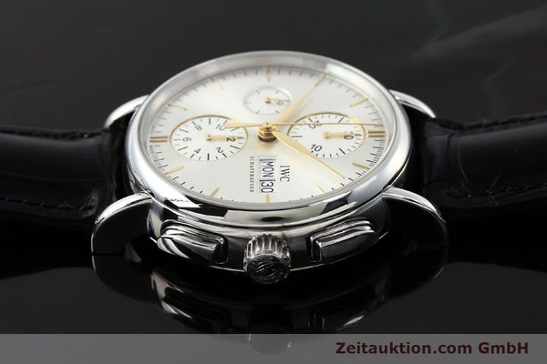 Used luxury watch IWC Portofino chronograph steel automatic Kal. 79320 Ref. 3783  | 150390 05