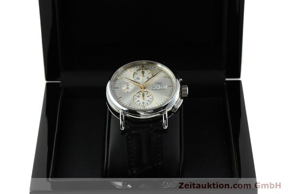 Used luxury watch IWC Portofino chronograph steel automatic Kal. 79320 Ref. 3783  | 150390 07