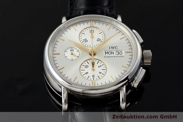 Used luxury watch IWC Portofino chronograph steel automatic Kal. 79320 Ref. 3783  | 150390 16