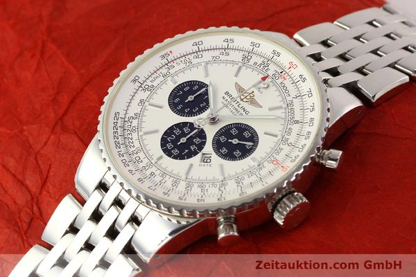 Used luxury watch Breitling Navitimer chronograph steel automatic Kal. B35 ETA 2892A2 Ref. A35340  | 150391 01