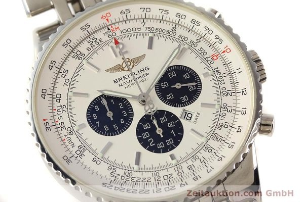 Used luxury watch Breitling Navitimer chronograph steel automatic Kal. B35 ETA 2892A2 Ref. A35340  | 150391 02