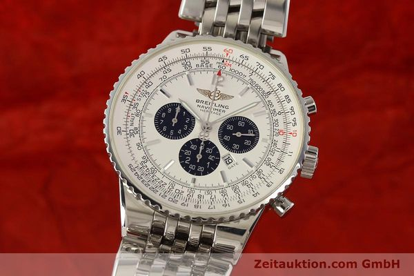 Used luxury watch Breitling Navitimer chronograph steel automatic Kal. B35 ETA 2892A2 Ref. A35340  | 150391 04