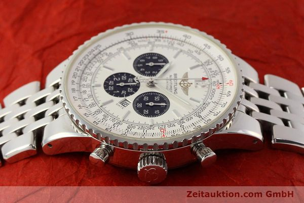 Used luxury watch Breitling Navitimer chronograph steel automatic Kal. B35 ETA 2892A2 Ref. A35340  | 150391 05