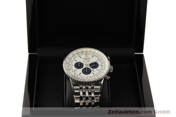 Used luxury watch Breitling Navitimer chronograph steel automatic Kal. B35 ETA 2892A2 Ref. A35340  | 150391 07