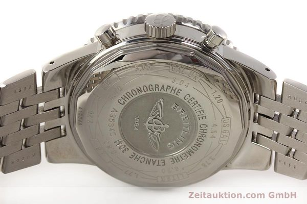 Used luxury watch Breitling Navitimer chronograph steel automatic Kal. B35 ETA 2892A2 Ref. A35340  | 150391 09