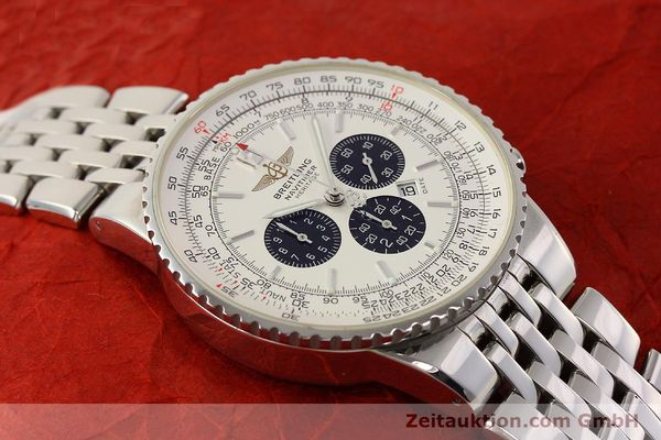 Used luxury watch Breitling Navitimer chronograph steel automatic Kal. B35 ETA 2892A2 Ref. A35340  | 150391 13
