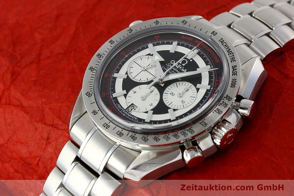 Used luxury watch Omega Speedmaster chronograph steel automatic Kal. 3612 A Ref. 35825100  | 150394 01