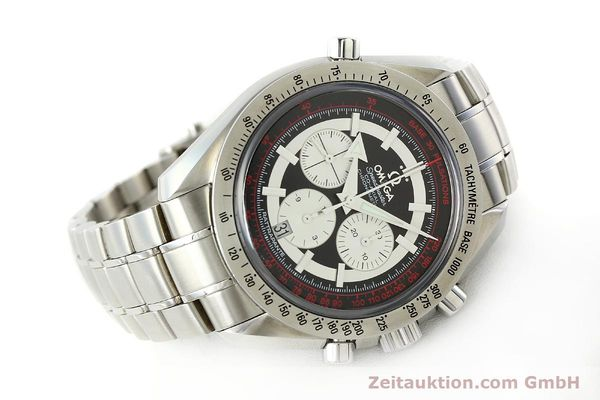 Used luxury watch Omega Speedmaster chronograph steel automatic Kal. 3612 A Ref. 35825100  | 150394 03