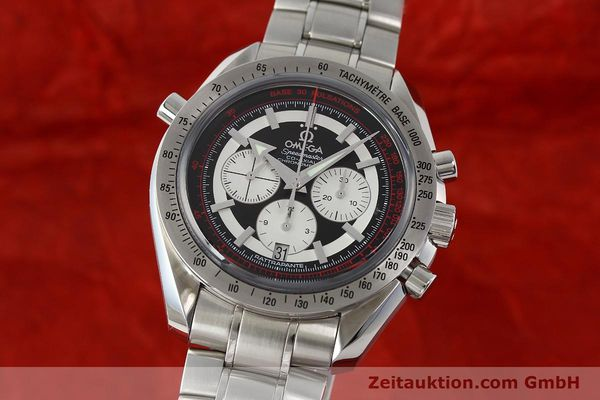 Used luxury watch Omega Speedmaster chronograph steel automatic Kal. 3612 A Ref. 35825100  | 150394 04
