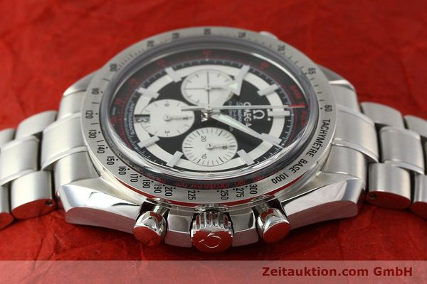 Used luxury watch Omega Speedmaster chronograph steel automatic Kal. 3612 A Ref. 35825100  | 150394 05