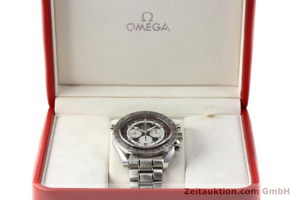 Used luxury watch Omega Speedmaster chronograph steel automatic Kal. 3612 A Ref. 35825100  | 150394 07