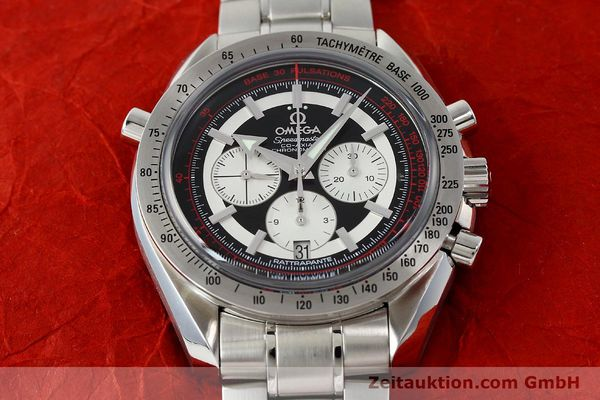 Used luxury watch Omega Speedmaster chronograph steel automatic Kal. 3612 A Ref. 35825100  | 150394 19
