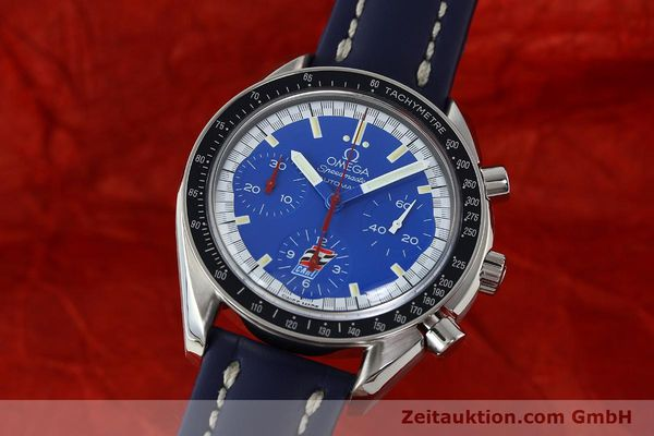 Used luxury watch Omega Speedmaster chronograph steel automatic Kal. 1143 ETA 2890A2 LIMITED EDITION | 150397 04
