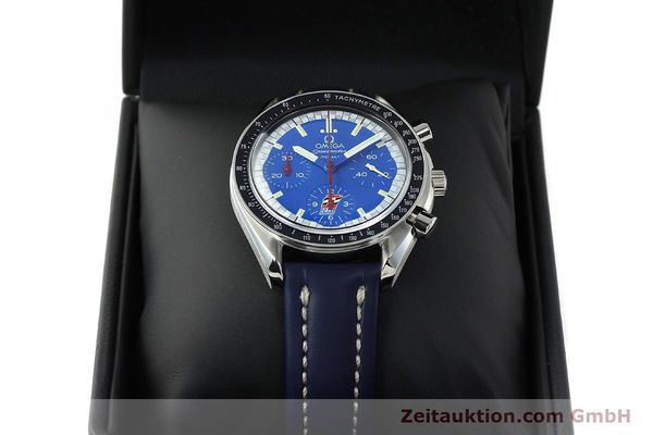 Used luxury watch Omega Speedmaster chronograph steel automatic Kal. 1143 ETA 2890A2 LIMITED EDITION | 150397 07