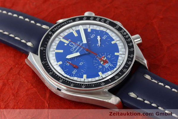 Used luxury watch Omega Speedmaster chronograph steel automatic Kal. 1143 ETA 2890A2 LIMITED EDITION | 150397 13