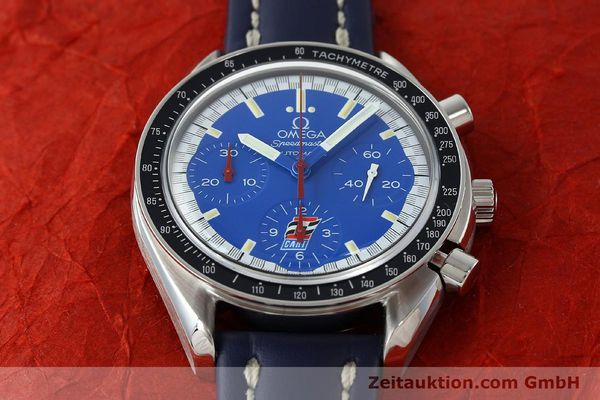Used luxury watch Omega Speedmaster chronograph steel automatic Kal. 1143 ETA 2890A2 LIMITED EDITION | 150397 14
