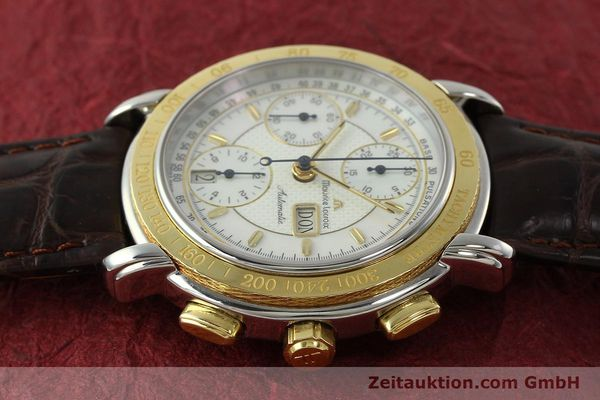 Used luxury watch Maurice Lacroix Masterpiece chronograph steel / gold automatic Kal. ML67 ETA 7750 Ref. 67587  | 150410 05
