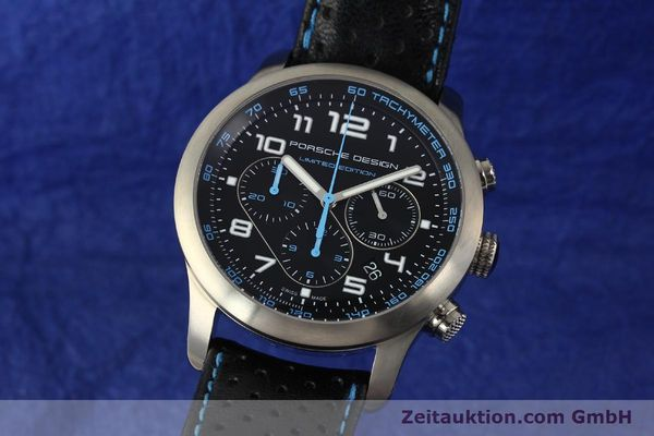 montre de luxe d occasion Porsche Design Dashbord chronographe titane  automatique Kal. ETA 2894-2 Ref. 6612.11/3 LIMITED EDITION | 150416 04