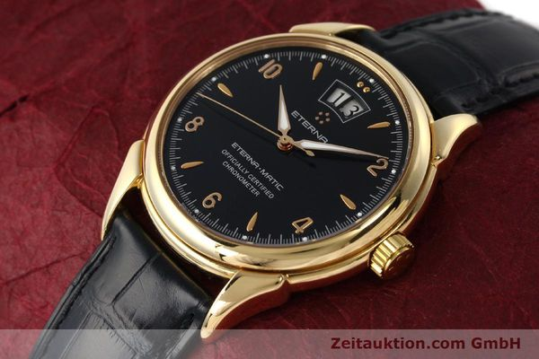 Used luxury watch Eterna 1948 18 ct gold automatic Kal. ETA 2892 A2 Ref. 608.8425.69  | 150421 01