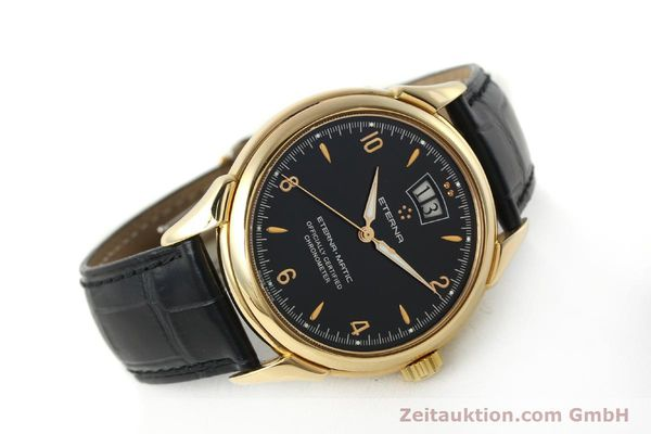 Used luxury watch Eterna 1948 18 ct gold automatic Kal. ETA 2892 A2 Ref. 608.8425.69  | 150421 03