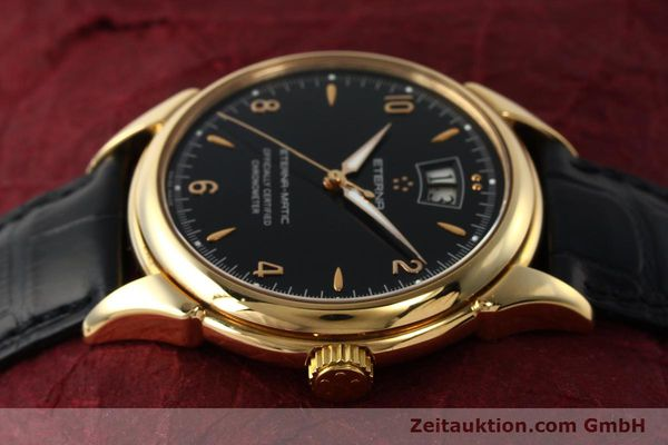 Used luxury watch Eterna 1948 18 ct gold automatic Kal. ETA 2892 A2 Ref. 608.8425.69  | 150421 05