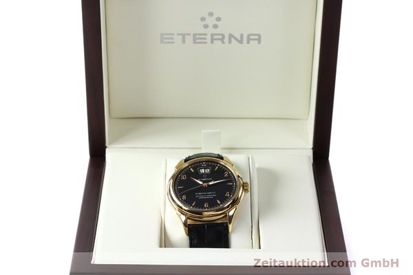 Used luxury watch Eterna 1948 18 ct gold automatic Kal. ETA 2892 A2 Ref. 608.8425.69  | 150421 07