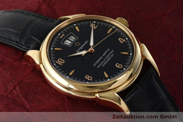 Used luxury watch Eterna 1948 18 ct gold automatic Kal. ETA 2892 A2 Ref. 608.8425.69  | 150421 15
