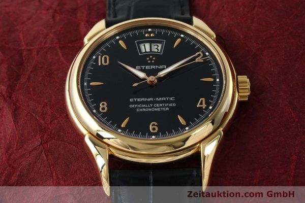 Used luxury watch Eterna 1948 18 ct gold automatic Kal. ETA 2892 A2 Ref. 608.8425.69  | 150421 16