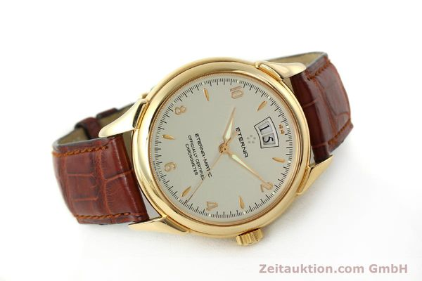 montre de luxe d occasion Eterna 1948 or 18 ct automatique Kal. ETA 2892 A2 Ref. 608.8425.69  | 150422 03
