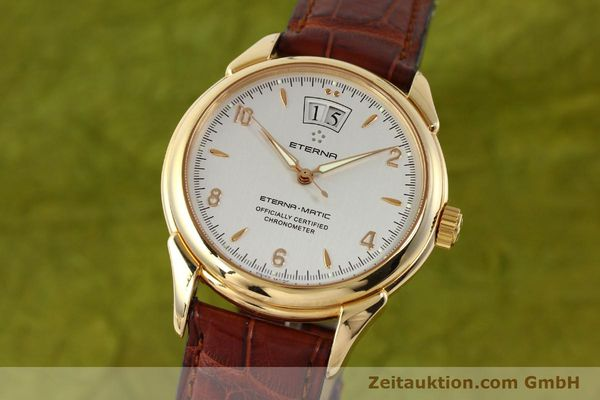 montre de luxe d occasion Eterna 1948 or 18 ct automatique Kal. ETA 2892 A2 Ref. 608.8425.69  | 150422 04