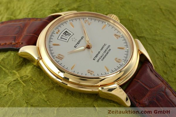montre de luxe d occasion Eterna 1948 or 18 ct automatique Kal. ETA 2892 A2 Ref. 608.8425.69  | 150422 15