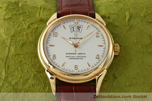 montre de luxe d occasion Eterna 1948 or 18 ct automatique Kal. ETA 2892 A2 Ref. 608.8425.69  | 150422 16