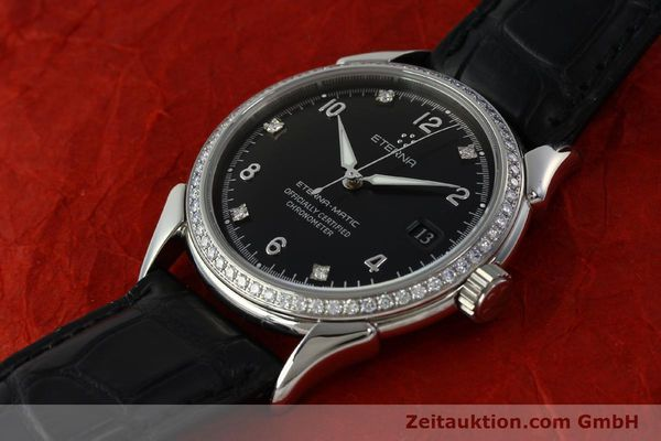 Used luxury watch Eterna 1948 steel automatic Kal. ETA 2824-2 Ref. 633.8423.41  | 150423 01