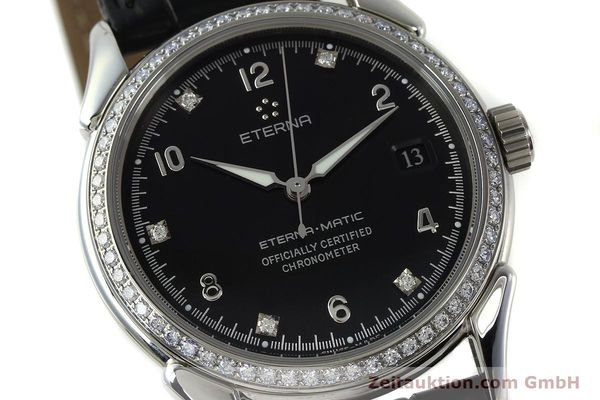 Used luxury watch Eterna 1948 steel automatic Kal. ETA 2824-2 Ref. 633.8423.41  | 150423 02