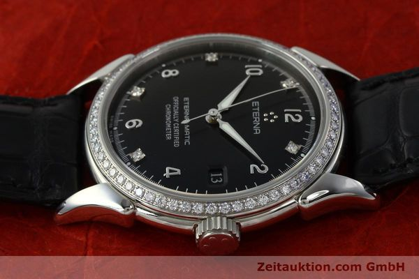 Used luxury watch Eterna 1948 steel automatic Kal. ETA 2824-2 Ref. 633.8423.41  | 150423 05