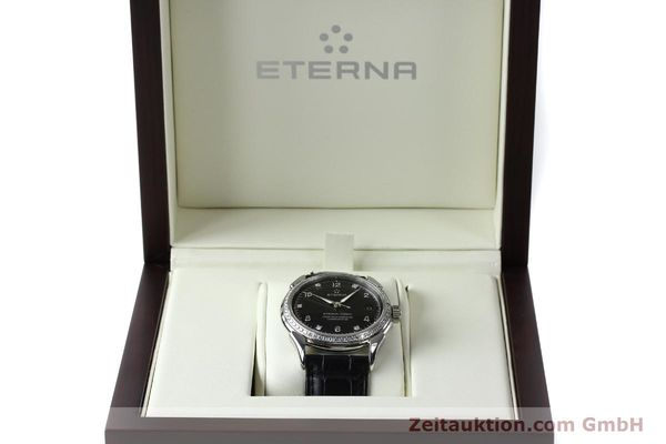 Used luxury watch Eterna 1948 steel automatic Kal. ETA 2824-2 Ref. 633.8423.41  | 150423 07