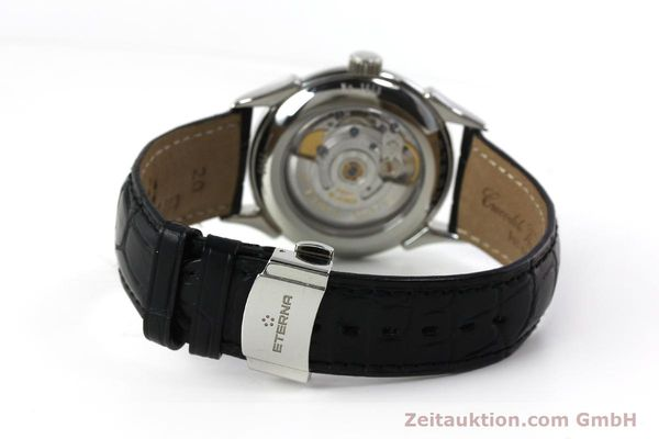 Used luxury watch Eterna 1948 steel automatic Kal. ETA 2824-2 Ref. 633.8423.41  | 150423 12