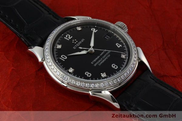 Used luxury watch Eterna 1948 steel automatic Kal. ETA 2824-2 Ref. 633.8423.41  | 150423 15