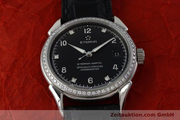 Used luxury watch Eterna 1948 steel automatic Kal. ETA 2824-2 Ref. 633.8423.41  | 150423 16