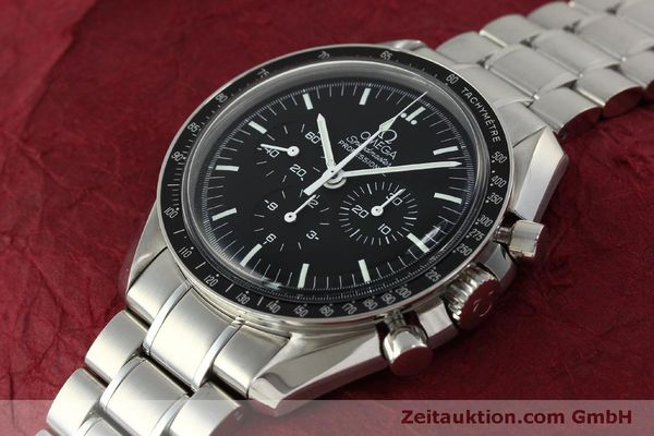 Used luxury watch Omega Speedmaster chronograph steel manual winding Kal. 1861  | 150425 01